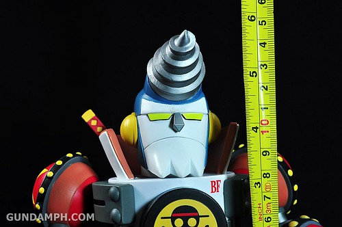 Banpresto One Piece WCF Mega Franky Shogun Review (29)