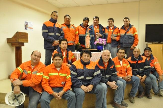 Santa Bárbara, Patrona de los Mineros visita Minera Alumbrera