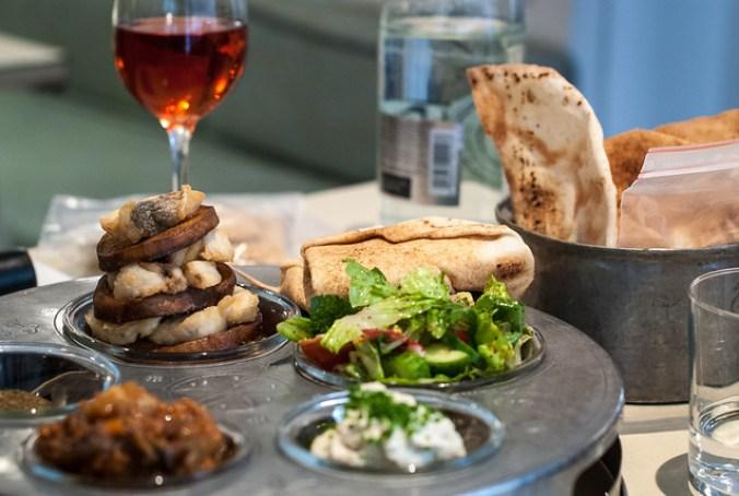 Restaurants in Parijs: mezze in Libanees restaurant Liza
