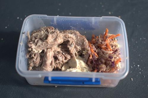 Pork & coleslaw