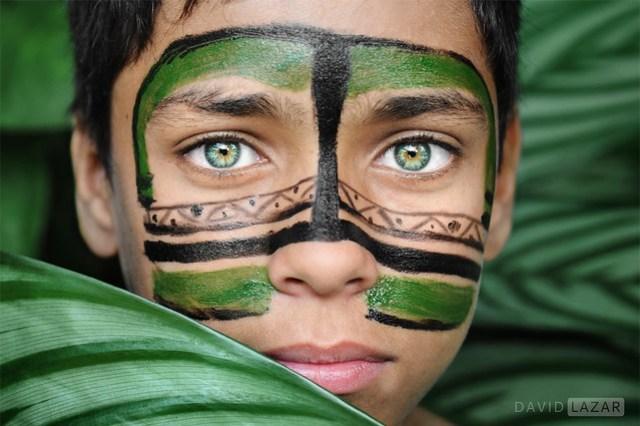 Green Eyed Boy from Brazil