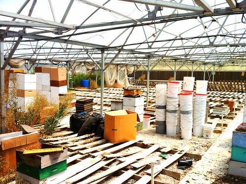 Moving out of The Farm storage space
