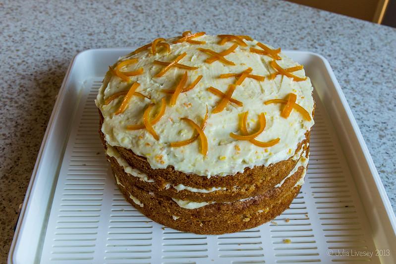 Spiced whole orange cake