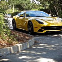 Spotted! Ferrari F12 Berlinetta, Pebble Beach, CA