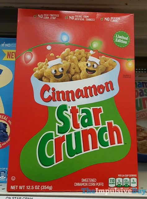 Limited Edition Cinnamon Star Crunch Cereal