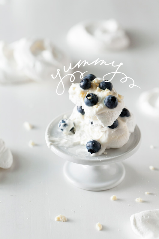 Blueberry Meringue Recipe