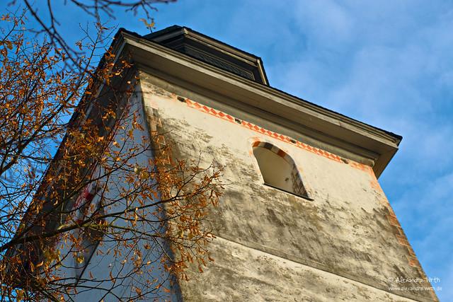 an der Dorfkirche by Alexandra Wirth