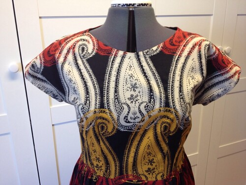 giant paisley frankendress bodice