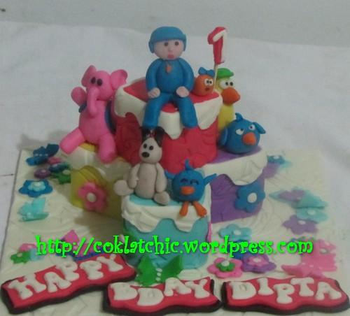 Miniature cake Pocoyo