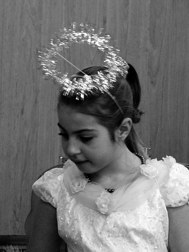 Little Girl at Childrens Party