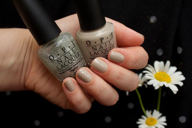 02 OPI Did You'Ear About Van Gogh? + OPI Pirouette My Whistle