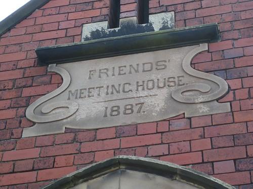 Friends Meeting House Saltburn 1887