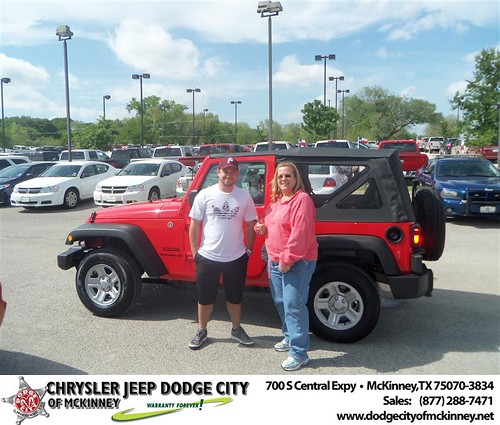 Dodge City of McKinney would like to wish a Happy Birthday to Christopher Benson! by Dodge City McKinney Texas