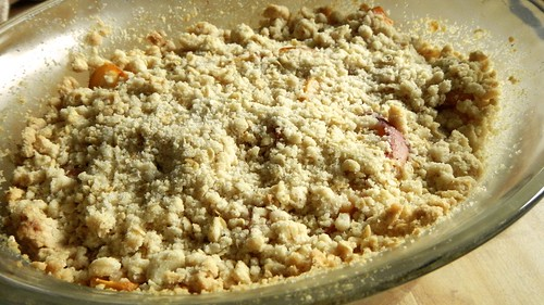 Peach Blueberry Crumble 12