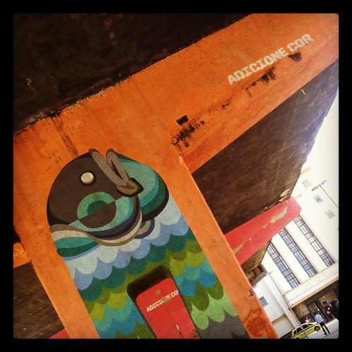 Praça 15 - Grafite