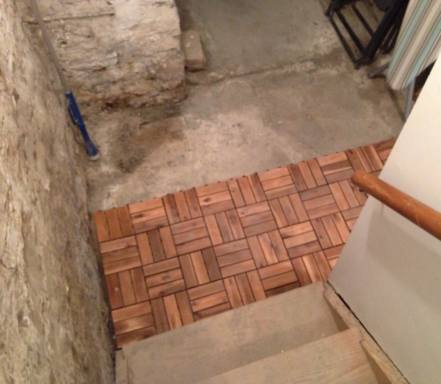 Basement Floor, From Stairs