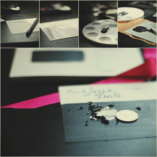 diy save the date collage
