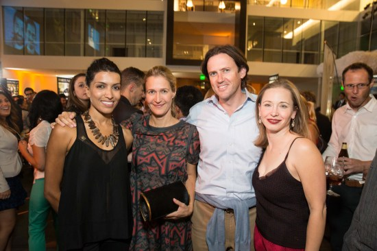 Leila Janah, Nina Stanford, Scott Stanford, Mylea Charvat