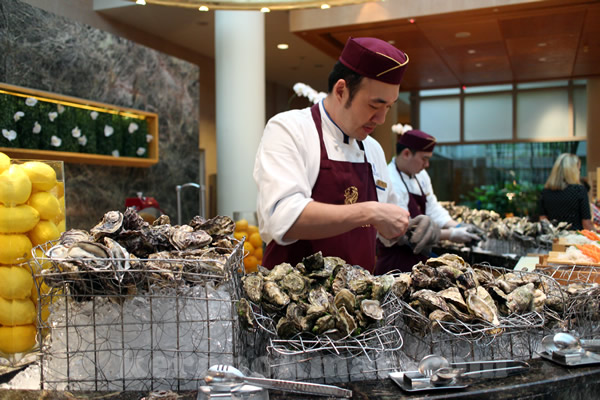 Autumn Vintage Champagne Sunday Brunch @ The Ritz-Carlton Millenia Singapore