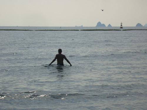Haundae Beach 2. November by Jens-Olaf