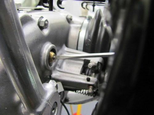 Tightening Transmission Neutral Switch Screw