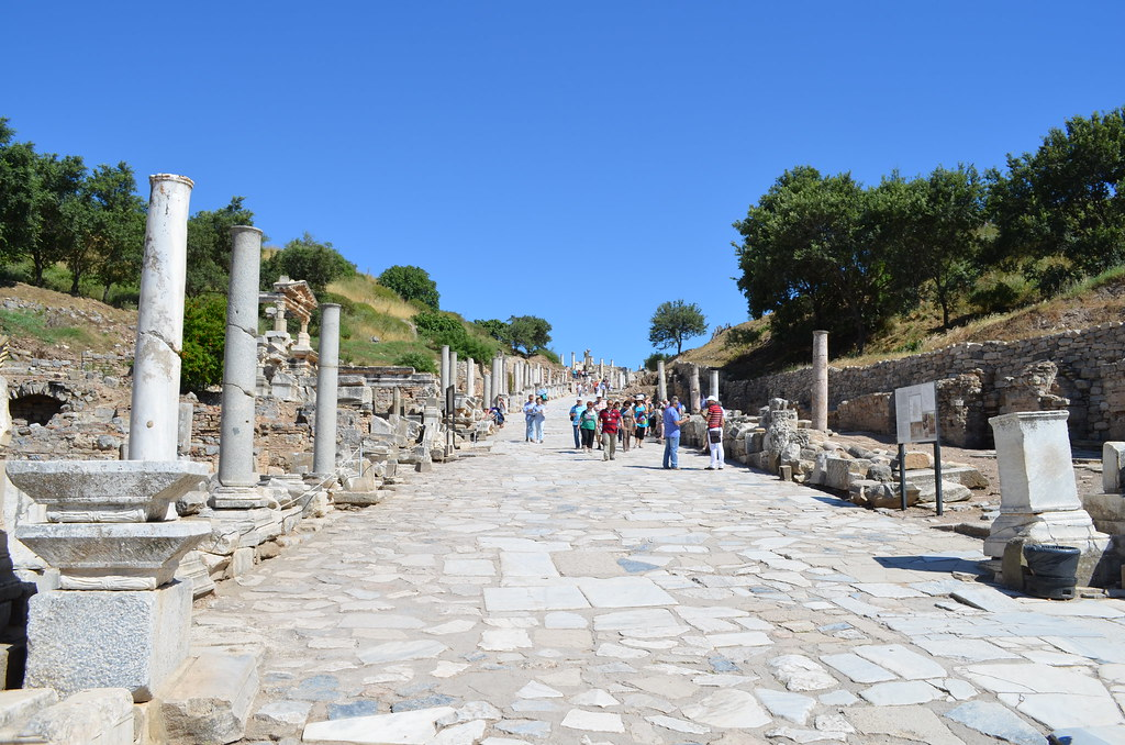 Marble Road - Ephesus, Turkey