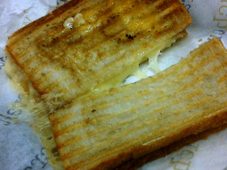 Lunch today: Grilled cheese from 'wichcraft