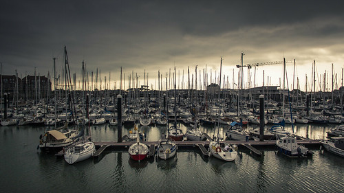 Marina (Le Port de Plaisance) - Blankenberge, Belgique - Photo : Gilderic