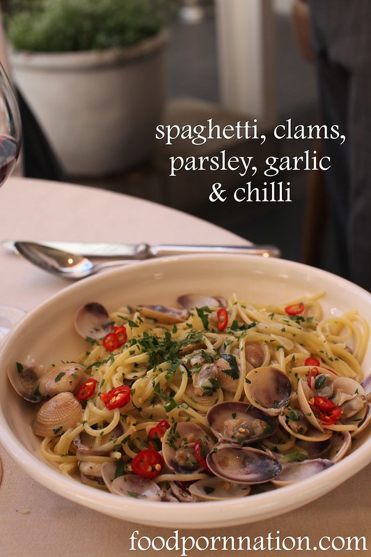 spaghetti clams