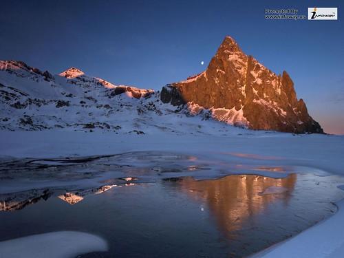 winter landscape hd wallpaper