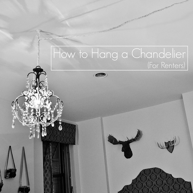 How To Hang A Chandelier For Renters Stars For