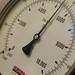 Piston cylinder pressure gauge