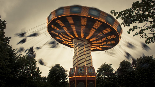 Blurred (Plopsaland, La Panne) - Photo : Gilderic