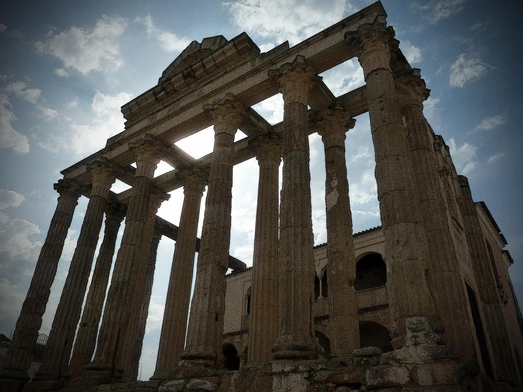 Templo de Diana, en Merida. Autor, Rafael dP