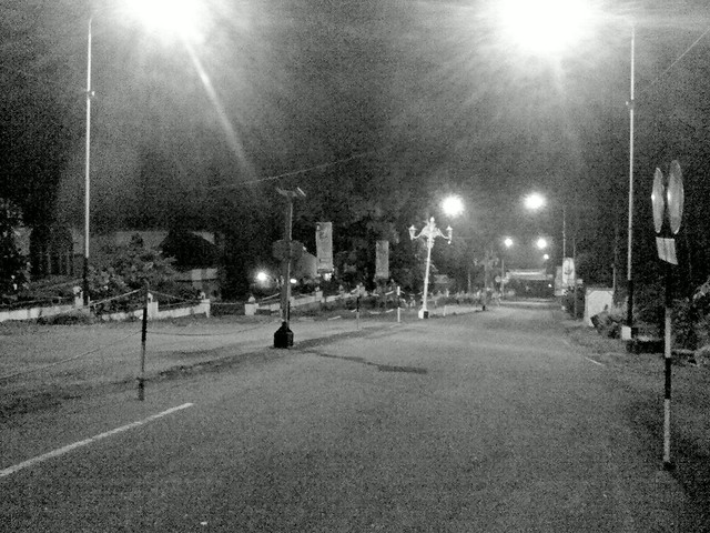 Midnight in Kaliurang