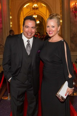 Guillermo Montes and Lisa Montes