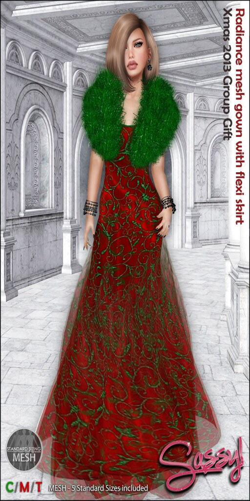 ~Sassy!~  FabFree Designer of The Day 12/28/13