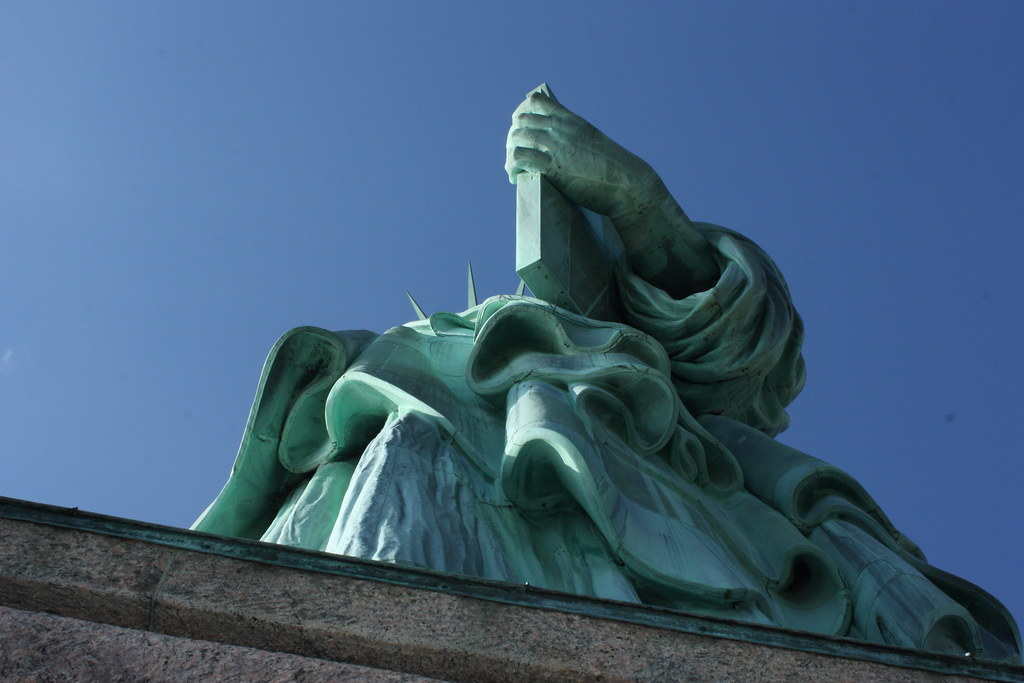 NYC Statue of Liberty hand
