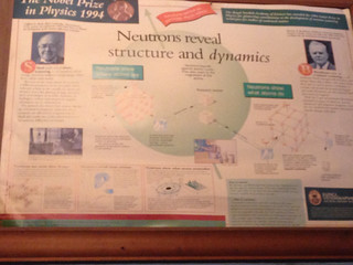 1994 Nobel Physics Prize Poster