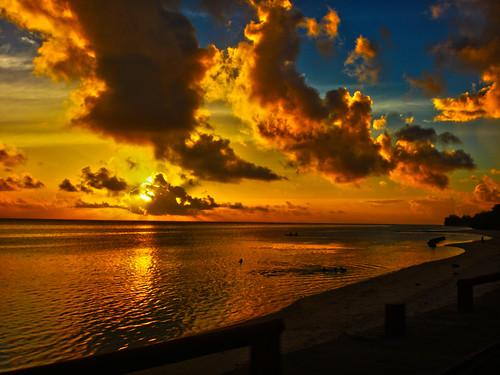 Rarotongan Sunset