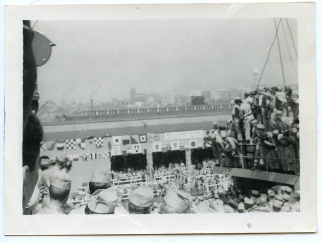 """Korean War Vets """"Pier"""", Seattle, 1951 (7 of 7)"""