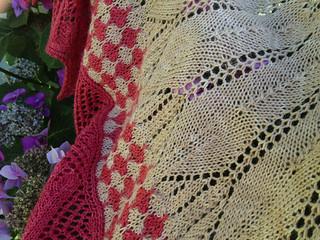 Romi Hill Shawl Closeup