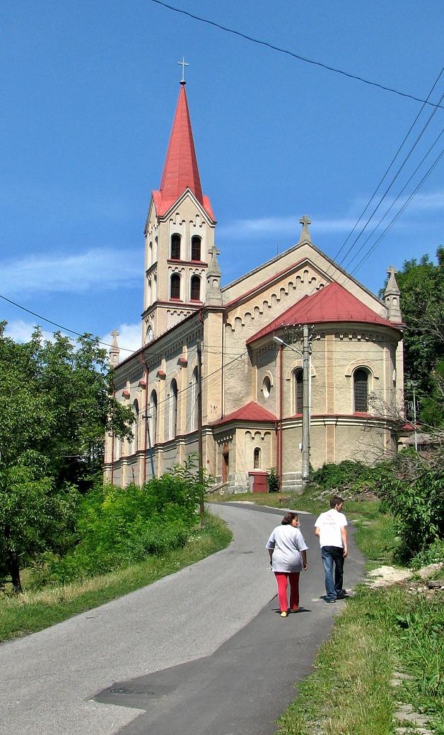 Kostol v Modrom Kameni dnes