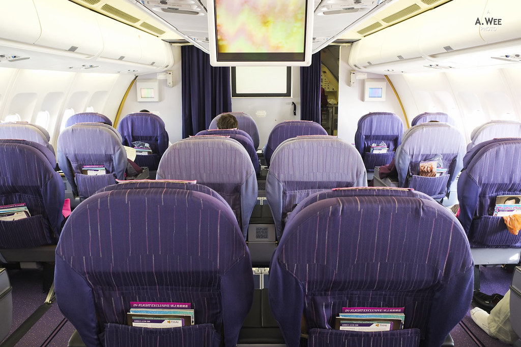 The Older Business Class Cabin