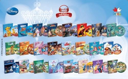 Disney AudioBook Litera Mica