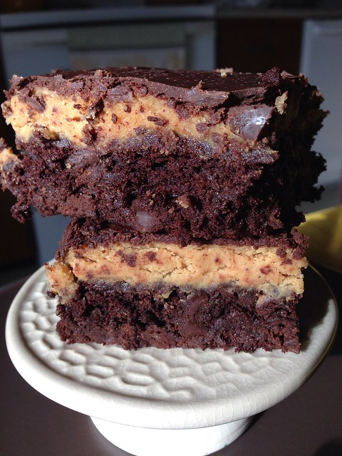 Buckeye Brownies (vegan & gluten free)
