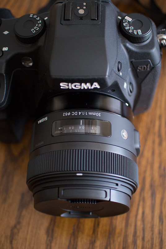 Sigma SD1 Merrill & Sigma 30mm f/1.4 ART