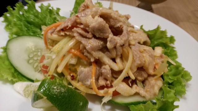 Salad at UCC Mentore