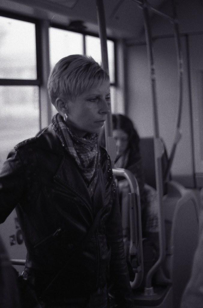 Praktica BC1 - Woman in the Tram