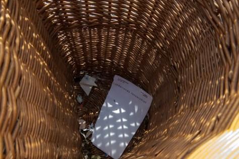 Memory lane, recycling paper